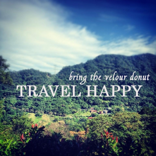 travel happy bring the donut